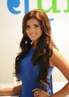 Lucy Mecklenburgh - in a Blue Dress - Launching Quidco Cashback Boutique Store-05