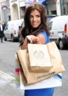 Lucy Mecklenburgh - in a Blue Dress - Launching Quidco Cashback Boutique Store-06