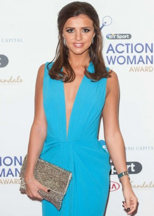 Lucy Mecklenburgh - BT Sport Action Woman Awards in London