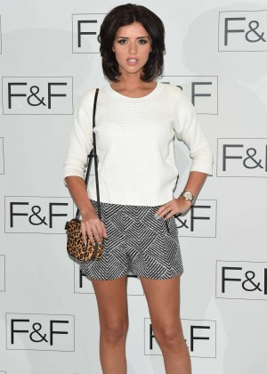Lucy Mecklenburgh: 2014 Fashion Show in London -11