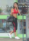 Lucy Mecklenburgh - Heads to the gym in London -03