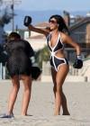 Lucy Mecklenburgh Bikini Photos: Santa Monica 2013 -07