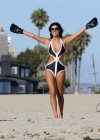 Lucy Mecklenburgh Bikini Photos: Santa Monica 2013 -08