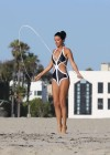 Lucy Mecklenburgh Bikini Photos: Santa Monica 2013 -38