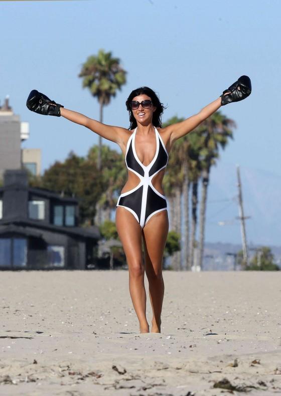 Lucy Mecklenburgh Bikini Photos: Santa Monica 2013 -48