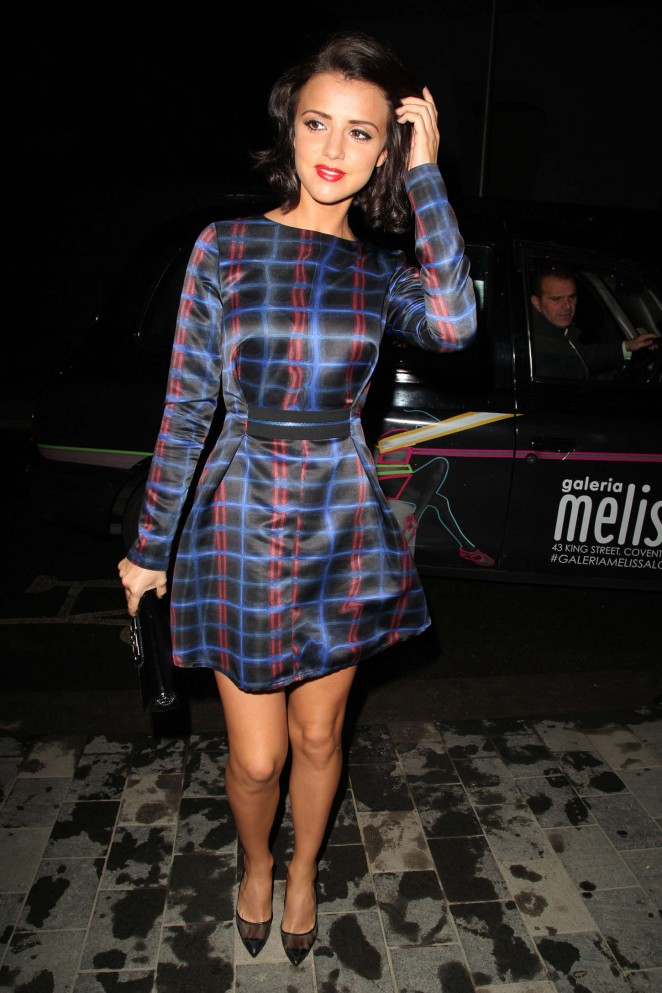 Lucy Mecklenburgh - Mondrian Hotel Launch Party in London