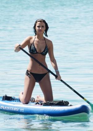 Lucy Mecklenburgh Bikini Pics: Paddleboarding In Miami -06