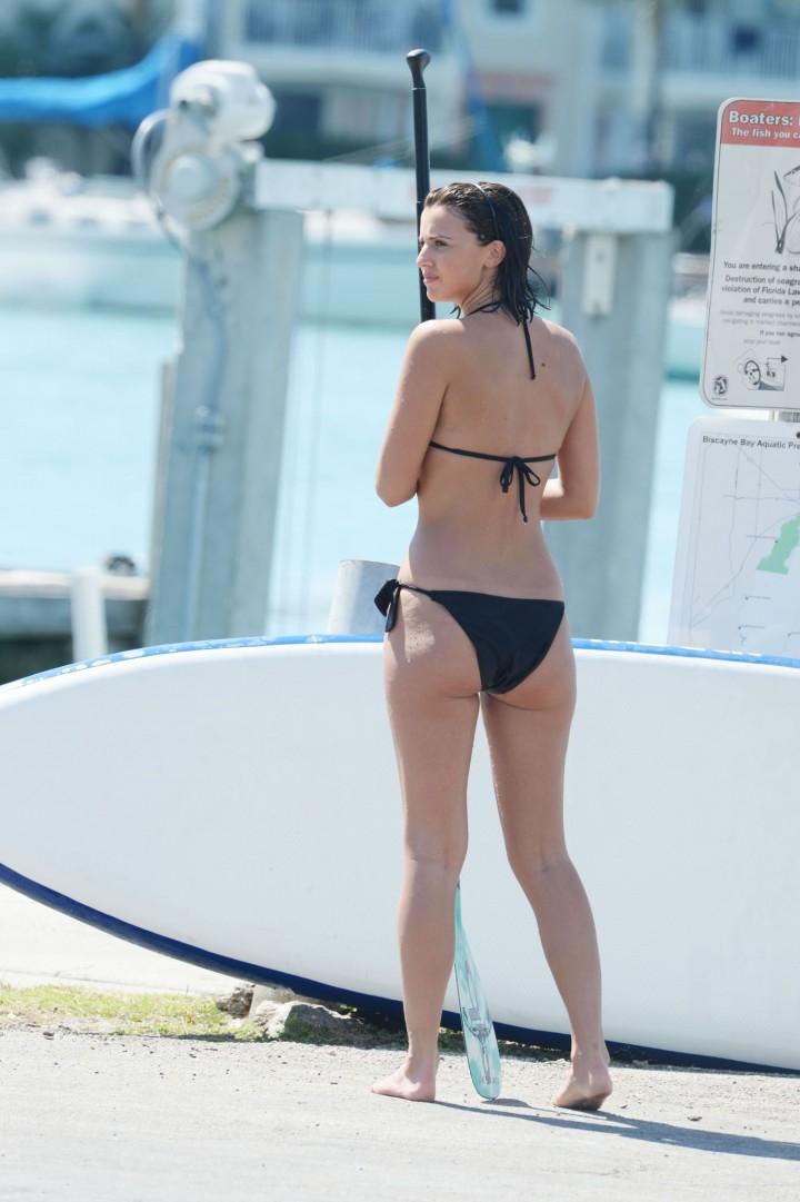 Lucy Mecklenburgh Bikini Pics: Paddleboarding In Miami -12