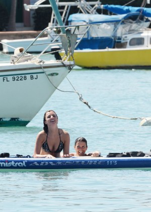 Lucy Mecklenburgh Bikini Pics: Paddleboarding In Miami -32