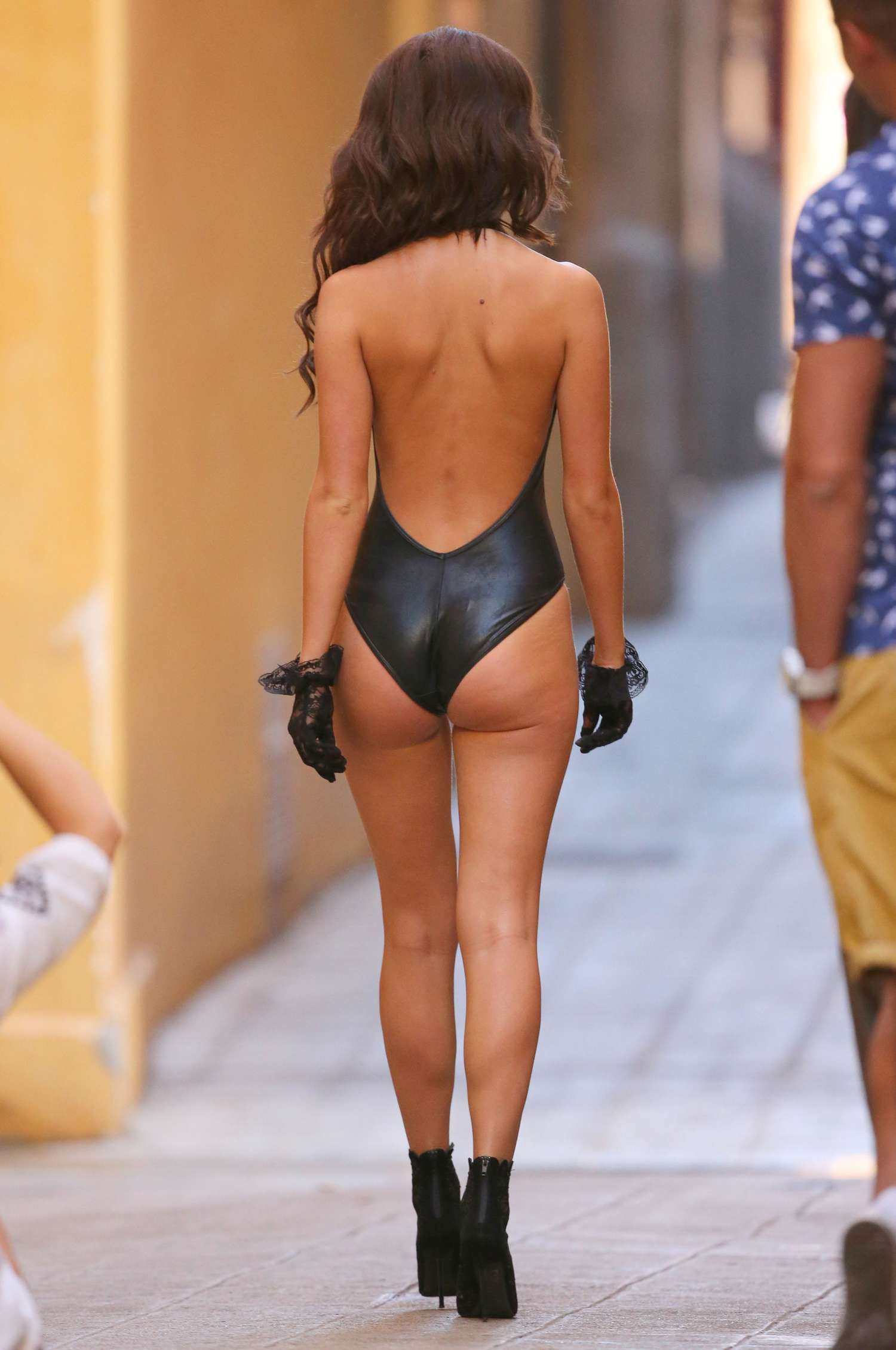 Lucy Mecklenburgh photoshoot candids in Nice -23 - GotCeleb