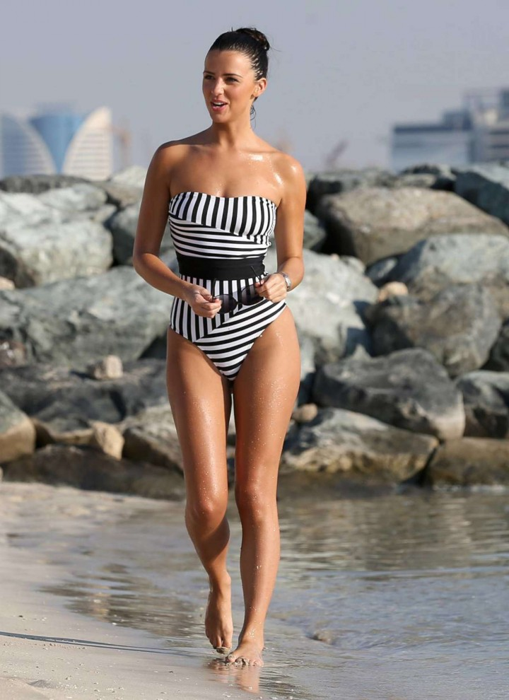 Lucy Mecklenburgh in a Swimsuit -07