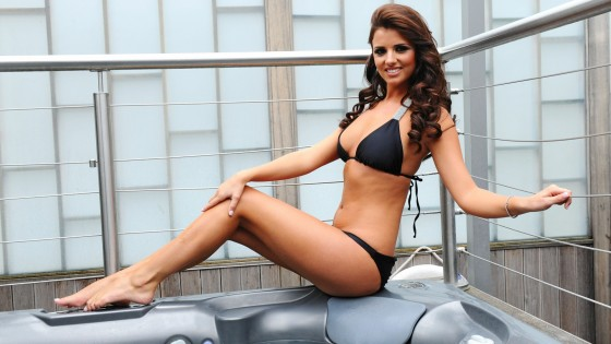 Lucy Mecklenburgh: Bikini Wallpapers -01