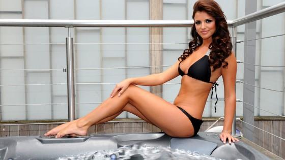 Lucy Mecklenburgh: Bikini Wallpapers -06