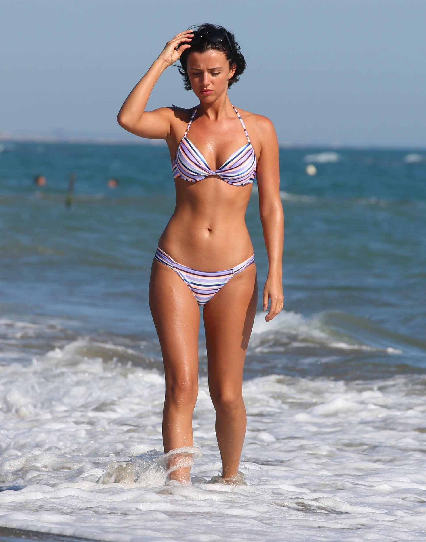 lucy mecklenburgh wearing bikini in italy   gotceleb