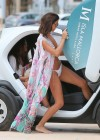 Lucy Mecklenburgh White bikini candids in Mallorca - Spain -31