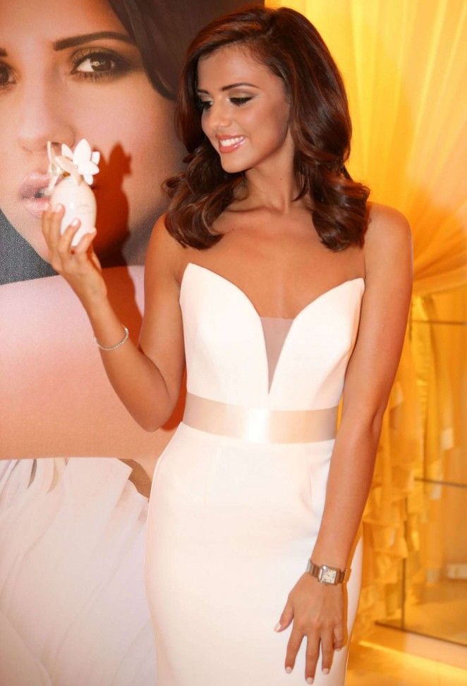 "Lucy Mecklenburgh - ""Wings"" Perfume Launch in London"