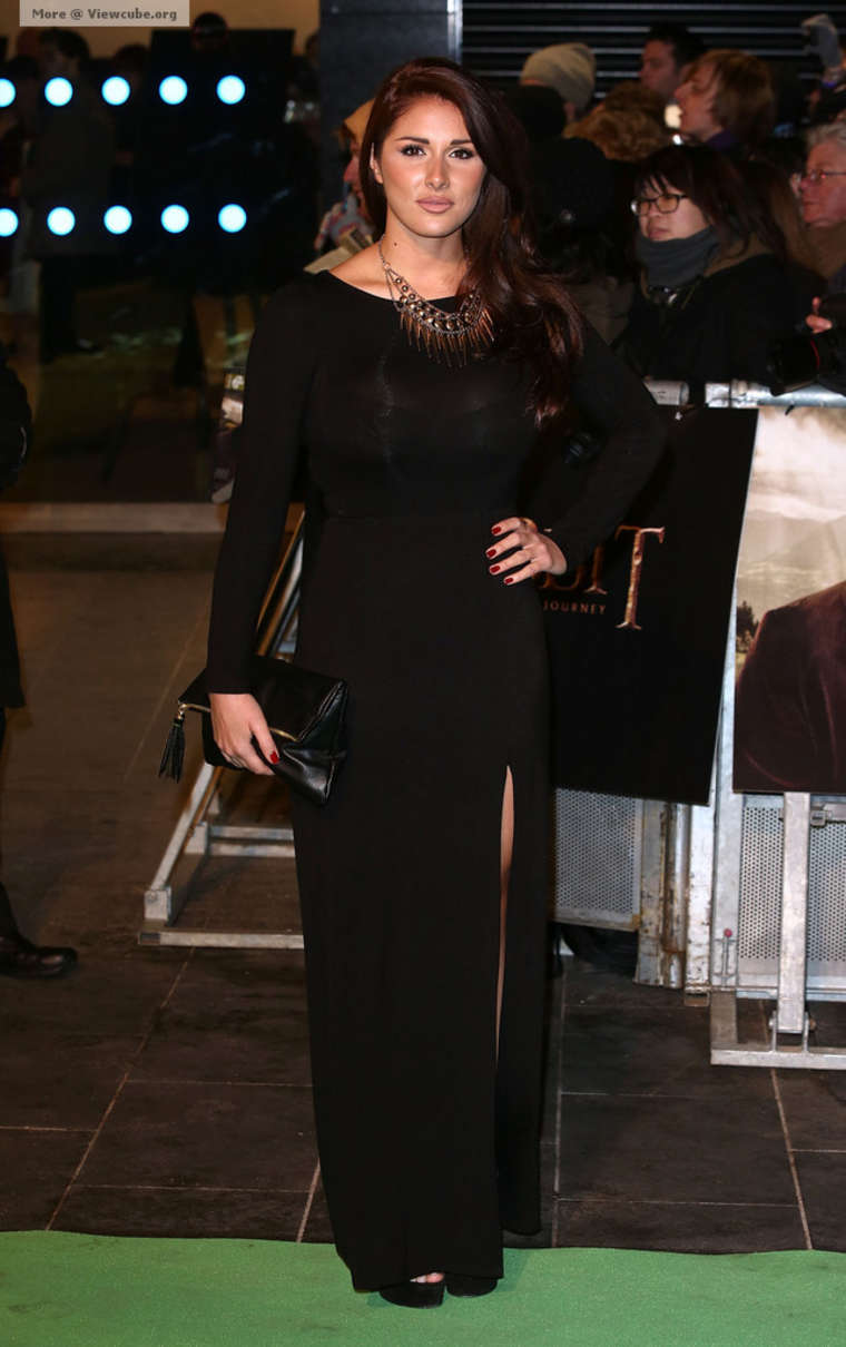 Lucy Pinder 2012 : Lucy Pinder at The Hobbit -07