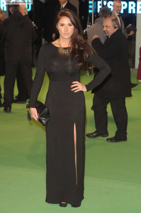 Lucy Pinder 2012 : Lucy Pinder at The Hobbit -09