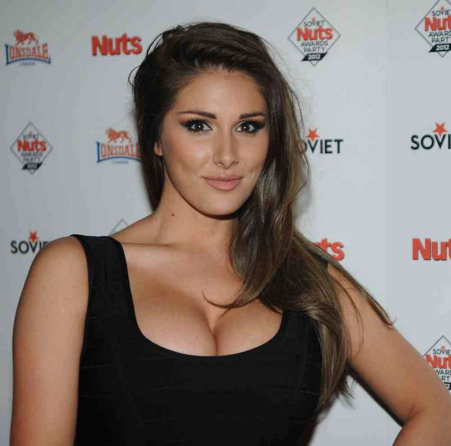Lucy Pinder – The Soviet Nuts Awards Party at Aura in Mayfair ...