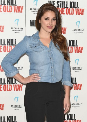 "Lucy Pinder - ""We Still Kill The Old Way"" Screening in London"