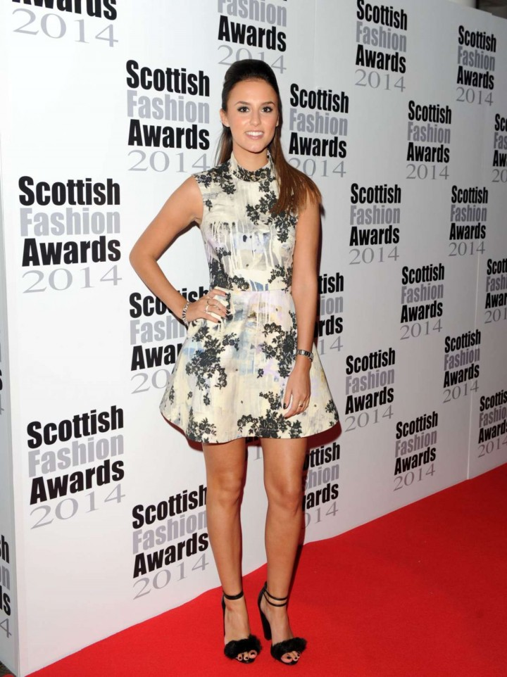 Lucy Watson - 2014 Scottish Fashion Awards in London