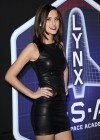 Lucy Watson in tight dress at Lynx L.S.A launch event in London - 01/10/13