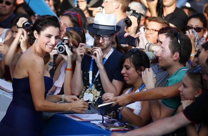 Luisa Ranieri - 2014 Venice Film Festival Opening Ceremony