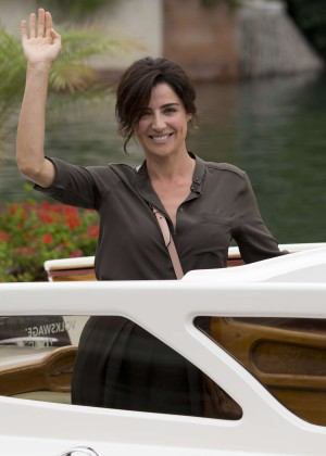 Luisa Ranieri - 2014 Venice Film Festival Photocall