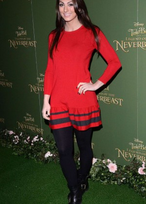 "Luisa Zissman - ""Tinker Bell and the Legend of the Neverbeast"" Premiere in London"