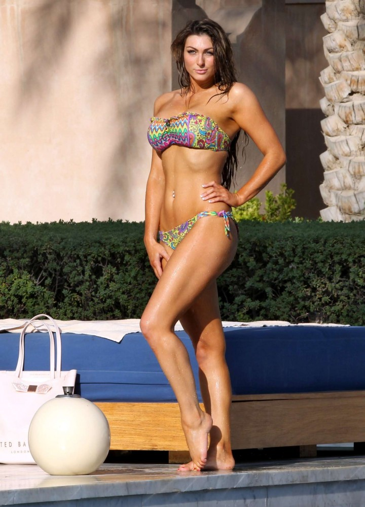 Luisa Zissman Bikini Photos: 2014 in Spain -07