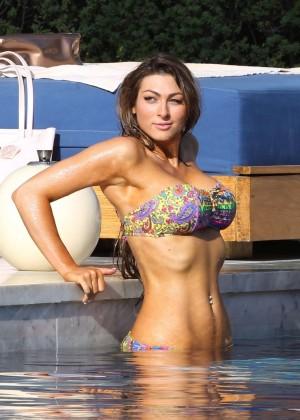Luisa Zissman Bikini Photos: 2014 in Spain -08