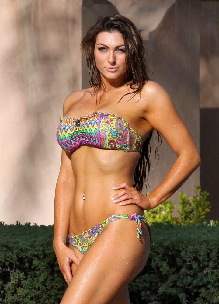 Luisa Zissman Bikini Photos: 2014 in Spain -19