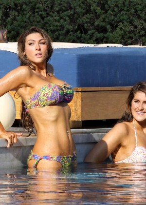 Luisa Zissman Bikini Photos: 2014 in Spain -20