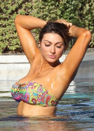 Luisa Zissman Bikini Photos: 2014 in Spain -21