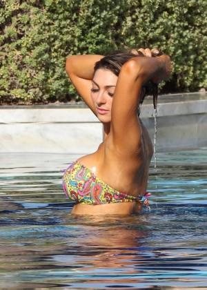 Luisa Zissman Bikini Photos: 2014 in Spain -22
