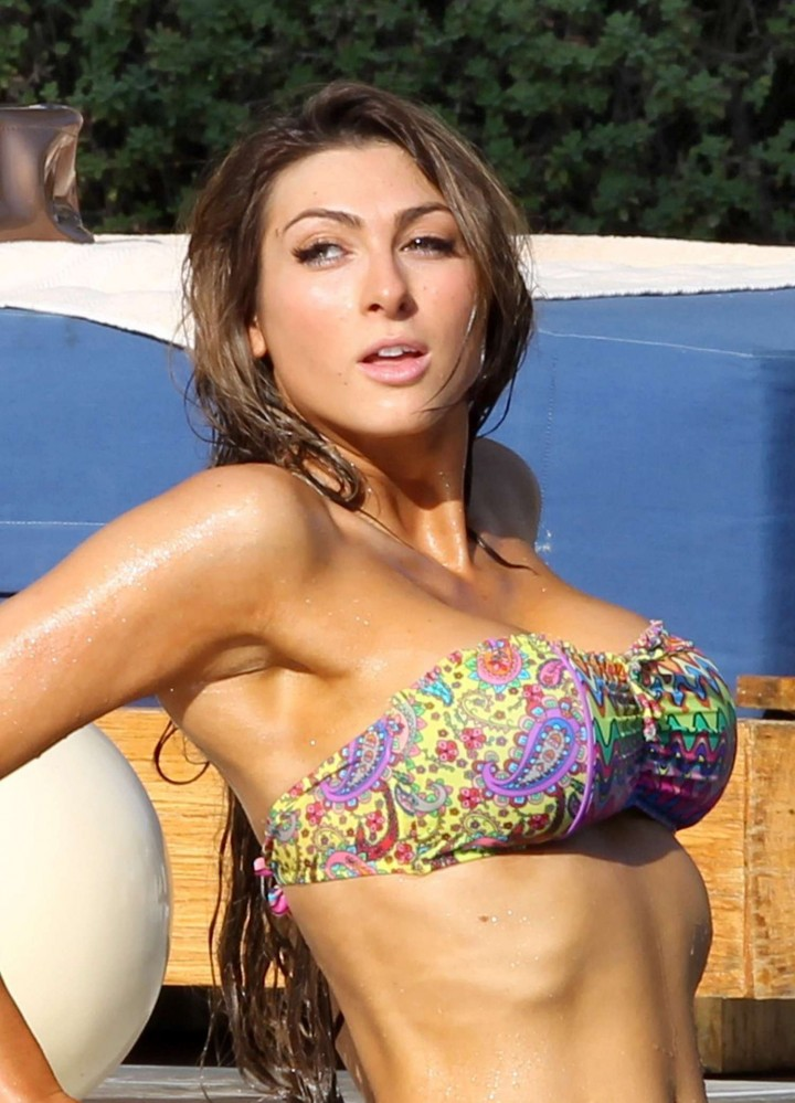 Luisa Zissman Bikini Photos: 2014 in Spain -24