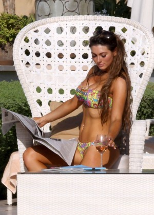 Luisa Zissman Bikini Photos: 2014 in Spain -38