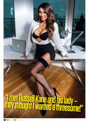 Luisa Zissman: ZOO UK Magazine (April 2014) -12
