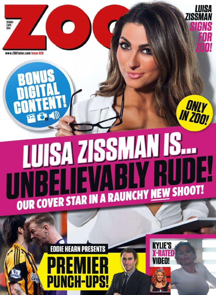 Luisa Zissman: ZOO UK Magazine (April 2014) -13