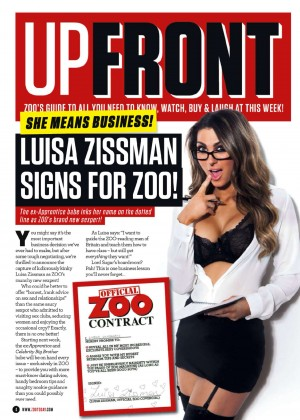 Luisa Zissman: ZOO UK Magazine (April 2014) -17