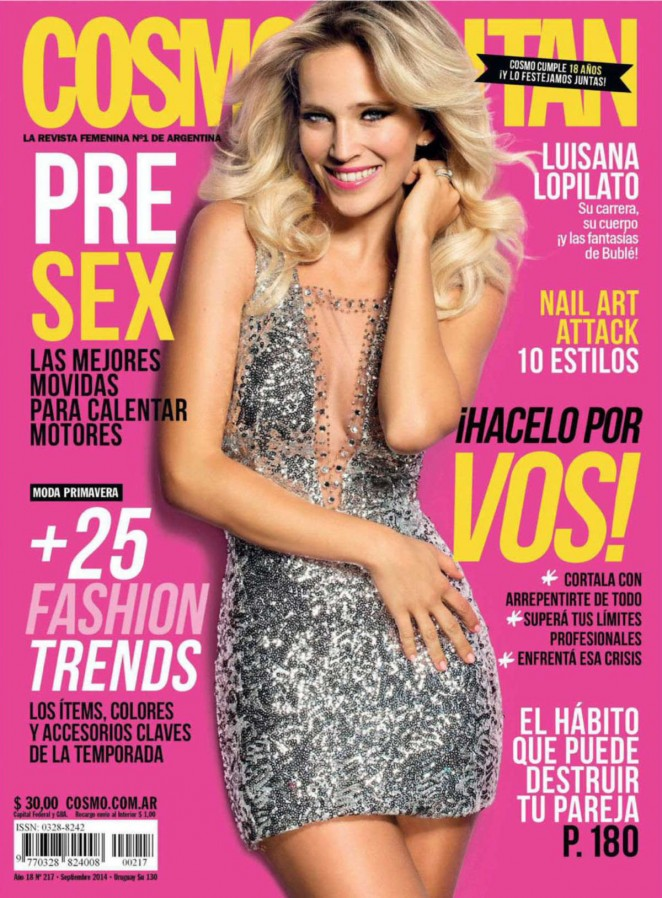 Luisana Lopilato: Cosmopolitan Argentina 2014 -01