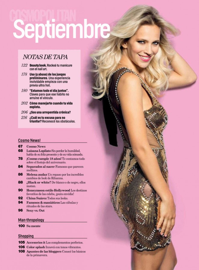 Luisana Lopilato: Cosmopolitan Argentina 2014 -05