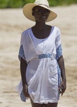 Lupita Nyongo in Bikini 2014-09