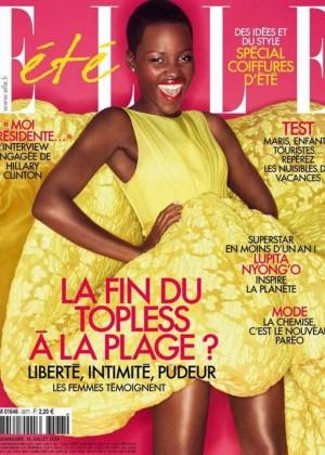Lupita Nyongo - ELLE France Cover Magazine (July 2014)
