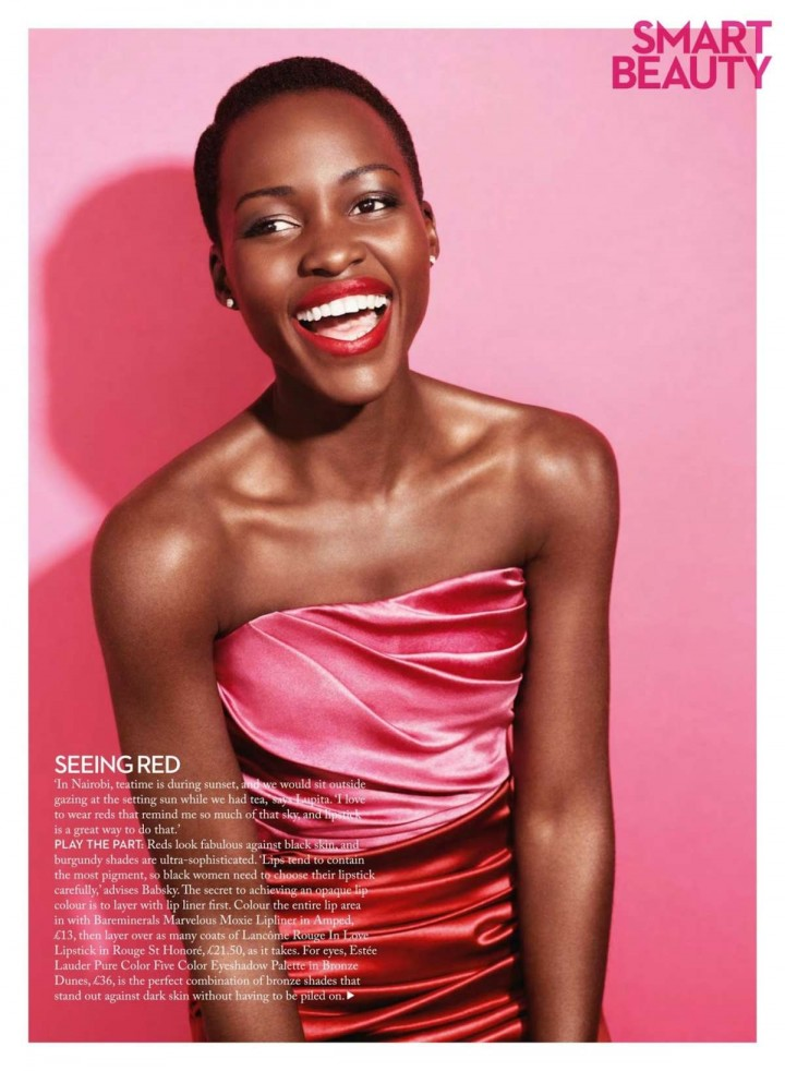 Lupita Nyongo - Marie Claire UK Magazine (October 2014)