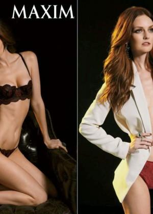 Lydia Hearst: Maxim Magazine -04