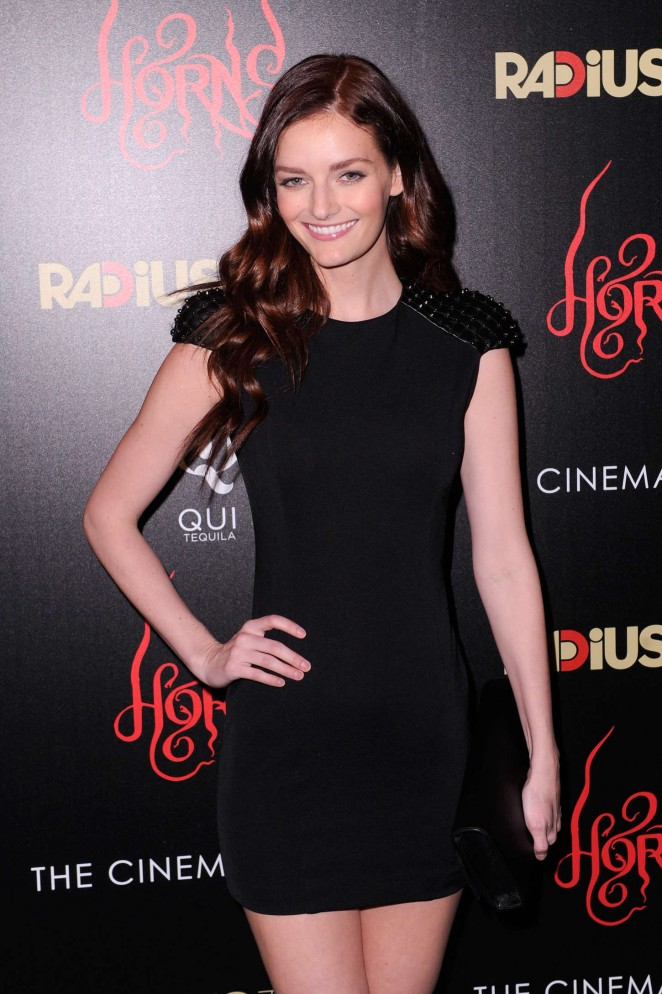 """Lydia Hearst - """"Horns"""" Premiere in New York"""
