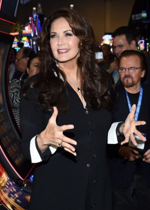 Lynda Carter - Global Gaming Expo (G2E) 2014 in Las Vegas