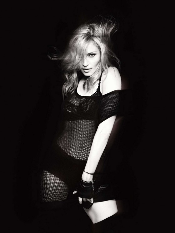 Madonna in sexy lingerie for Mert Alas – Marcus Piggott Photoshoot-03