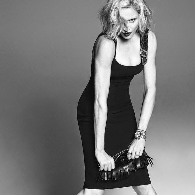 Madonna - Versace Spring 2015 Ad Campaign